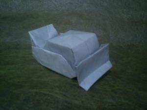 Buldoser Origami