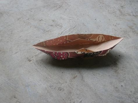 Origami Sampan