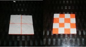 Dot-matrix 4×4