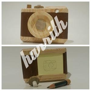 kamera kayu
