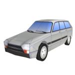 Citroën GS Papercraft Front